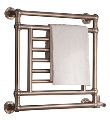 Myson EB31-1SN Salmon Traditional Electric Towel Warmer With Finish: Satin Nickel