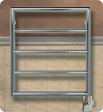 Myson ECMH3-3NI Ferlo Contemporary Electric Towel Warmer With Finish: Nickel