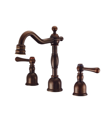 Danze D303057BR Opulence™ Mini-Widespread Lavatory Faucet in Tumbled Bronze