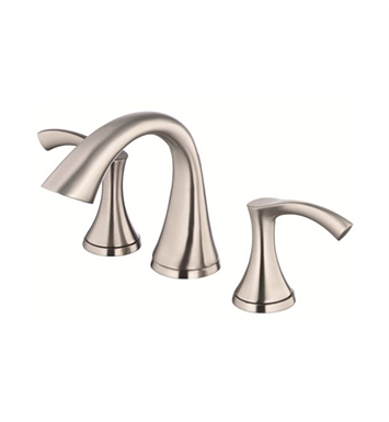 Danze D304022BN Antioch™ Two Handle Mini Widespread Lavatory Faucet in Brushed Nickel