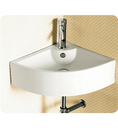Nameeks Caracalla Wall Mounted Vessel Corner Bathroom Sink CA4053