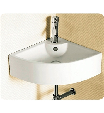 Nameeks CA4053 Caracalla Wall Mounted Vessel Corner Bathroom Sink