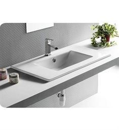 Nameeks CA4530820 Caracalla Self Rimming Bathroom Sink