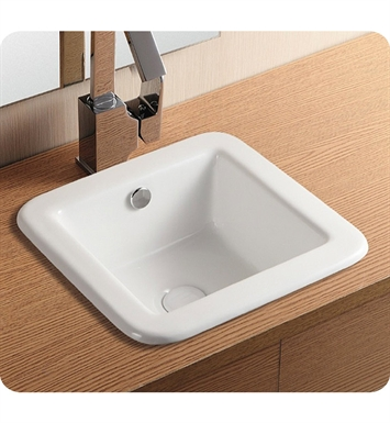 Nameeks CA4980 Caracalla Self Rimming Bathroom Sink