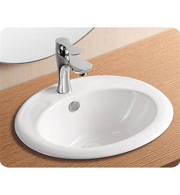 Nameeks CA4055 Caracalla Self Rimming Bathroom Sink