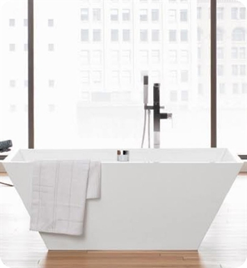 Neptune WISHR1S Wish R1 Freestanding Rectangular Bathroom Tub With Jet Mode: No Jets (Bathtub Only)
