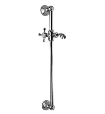 Graff G-8601-C2S-PC Traditional Wall Mounted Slide Bar With Finish: Polished Chrome