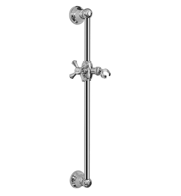 Graff G-8601-C3S-SN Traditional Wall Mounted Slide Bar With Finish: Steelnox (Satin Nickel)
