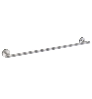 Smedbo HS3464 Home Towel Rail Single in Brushed Chrome