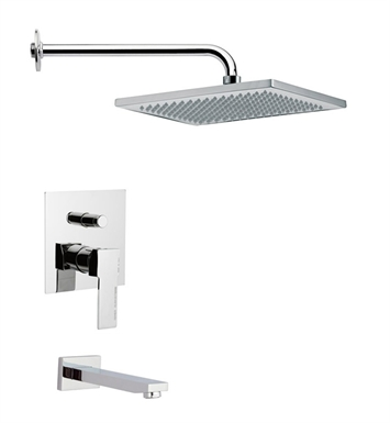 Nameeks TSF2115-14 Remer Tub and Shower Faucet With Finish: Black