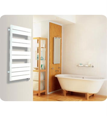 Myson EINTH-2CH Interlude White Contemporary Electric Towel Warmer With Finish: Chrome