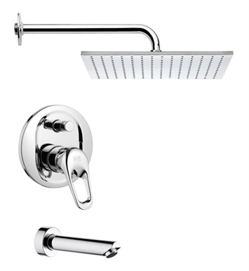 Nameeks TSF2119-14 Remer Tub and Shower Faucet With Finish: Black