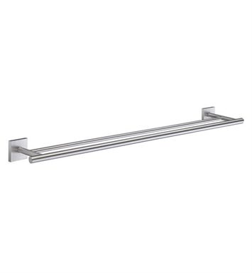 Smedbo RS3364 House Towel Rail Double in Brushed Chrome
