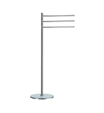 Smedbo FK307 Outline Towel Rail Free Standing in Polished Chrome