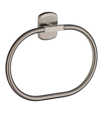Smedbo C344N Cabin Towel Ring in Brushed Nickel