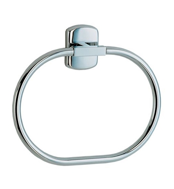 Smedbo CK344 Cabin Towel Ring in Polished Chrome