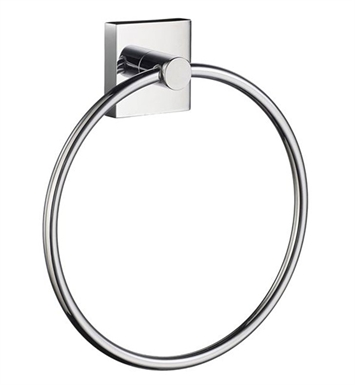 Smedbo RK344 House Towel Ring in Polished Chrome