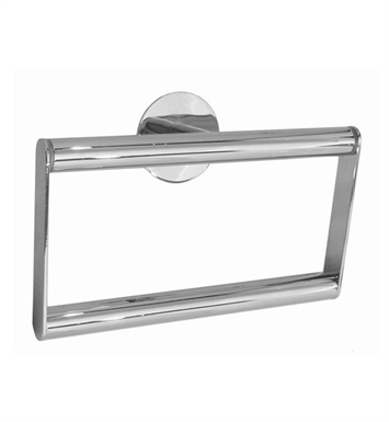 Smedbo YK344 Time Towel Ring in Polished Chrome