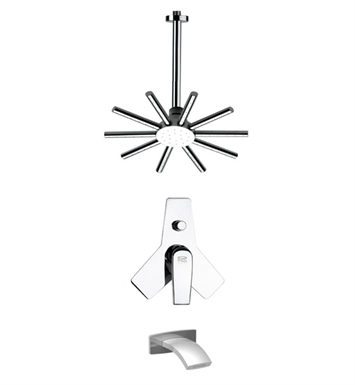 Nameeks TSF2271 Remer Tub and Shower Faucet