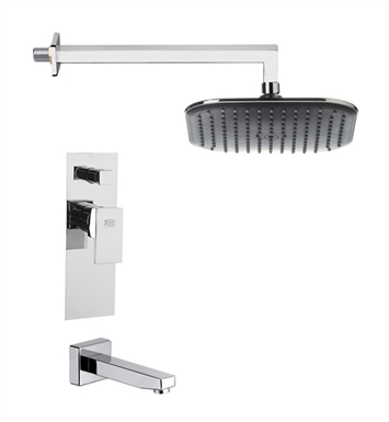 Nameeks TSF2279 Remer Tub and Shower Faucet