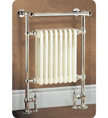 Myson VR1RB Dee Traditional Hydronic Towel Warmer With Finish: Regal Brass