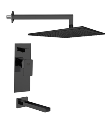 Nameeks TSF2296-14 Remer Tub and Shower Faucet With Finish: Black