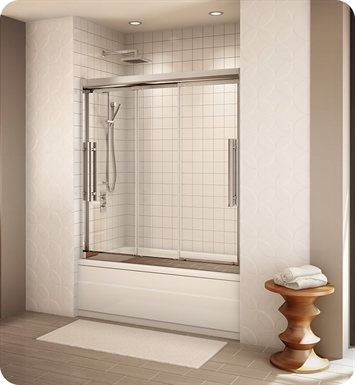 Fleurco ETR060 Banyo Treviso Semi Frameless In Line Sliding Tub Doors