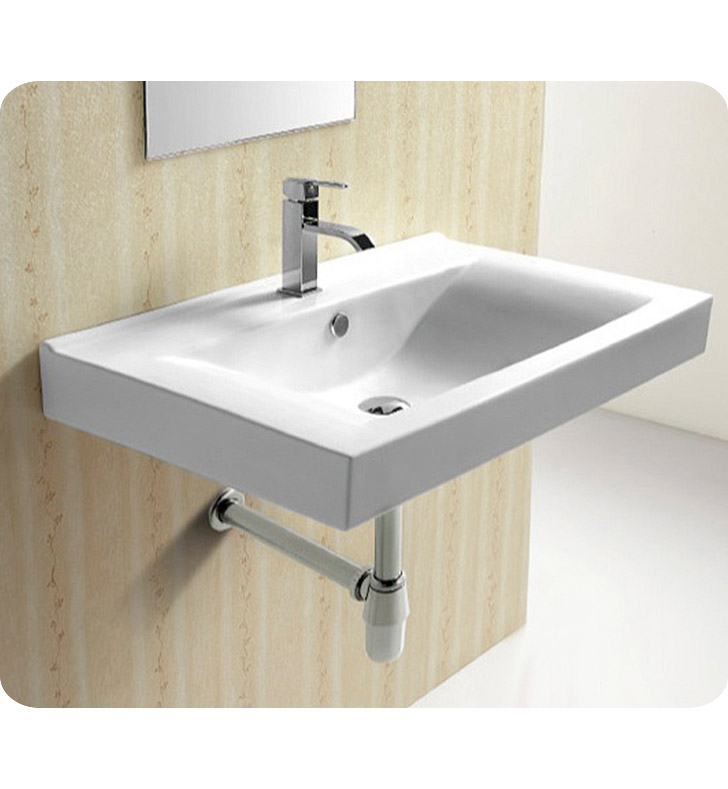 Nameeks CA4270B Caracalla Wall Mounted Bathroom Sink