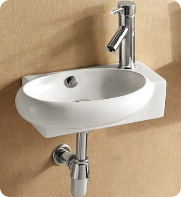 Nameeks Caracalla Wall Mounted Vessel Bathroom Sink CA4522B