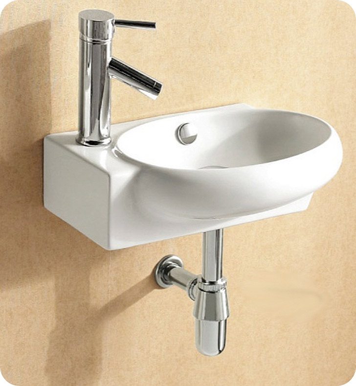 CA4522 Nameeks Caracalla Wall Mounted Vessel Bathroom Sink CA4522
