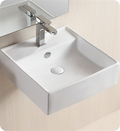 Nameeks Caracalla Wall Mounted Vessel Bathroom Sink CA4032