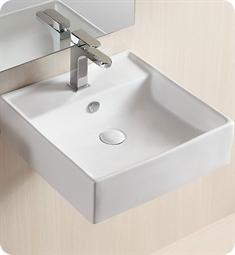 Nameeks Ca4032 Caracalla Wall Mounted Vessel Bathroom Sink