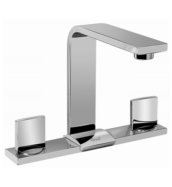Graff G-3600-C14-SN Targa Widespread Lavatory Faucet With Finish: Steelnox (Satin Nickel)
