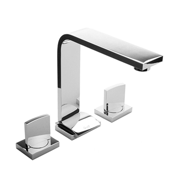 Graff G-3610-C14-PC Targa Widespread Lavatory Faucet with Unattached Handles With Finish: Polished Chrome