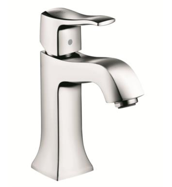 "Hansgrohe 31075001 Metris C 4 1/2"" Single Handle Deck Mounted Bathroom Faucet With Finish: Chrome"