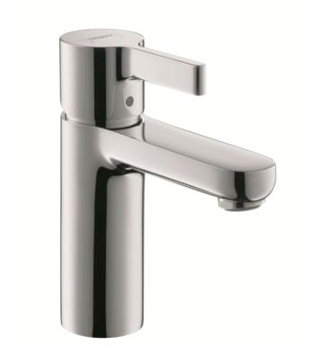 "Hansgrohe 31060001 Metris S 4 1/4"" Single Handle Deck Mounted Bathroom Faucet with Pop-Up Assembly With Finish: Chrome"
