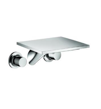 "Hansgrohe 18115001 Axor Massaud 10 3/8"" Double Handle Widespread/Wall Mount Long Bathroom Faucet in Chrome"