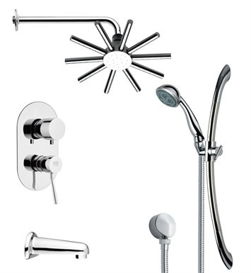 Remer Ss1143 likewise Faucet Valve Repair  06 F09 further Water Valve Replacement Handles in addition Roman Luxury Digital Display Brushed Nickel Finish Shower Panel Handheld Shower Head together with Remer Tsr9087. on shower diverter knob