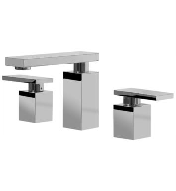 "Graff G-3710-LM31L-SN Solar 5 1/2"" Double Handle Widespread Bathroom Sink Faucet With Finish: Steelnox (Satin Nickel) And Rough / Valve: Rough"