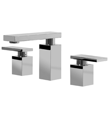 Graff G-3710-LM31L-SN Solar Widespread Lavatory Faucet With Finish: Steelnox (Satin Nickel)