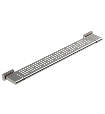 "Rubinet 7NRT0RDRD R10 29"" Shelf With Finish: Main Finish: Red 