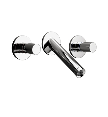 Hansgrohe 10313001 Axor Starck Wall Mounted Widespread Faucet Trim With Finish: Chrome