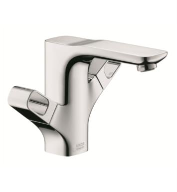 "Hansgrohe 11024001 Axor Urquiola 7 1/8"" Double Handle Deck Mounted Bathroom Faucet with Pop-Up Assembly"