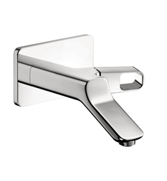Hansgrohe Axor Urquiola Wall Mounted Single Handle Faucet Trim in Chrome Finish