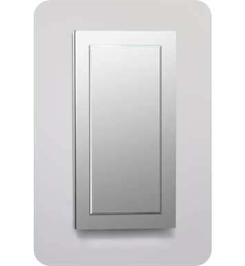 "Robern DC1630D6MGSN11 Decorative 15 1/4"" x 30"" x 6"" Framed Cabinet With Cabinet Hinge: No Electric, Left or Right Hinge And Style and Color: Tinted Gray Mirror <strong>(USUALLY SHIPS IN 2-3 WEEKS)</strong>"