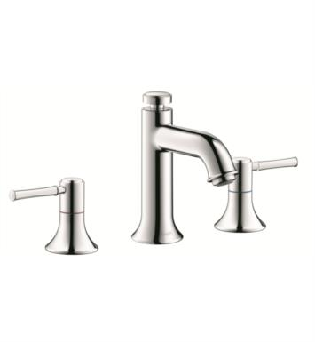 "Hansgrohe 14113821 Talis C 4"" Double Handle Widespread/Deck Mounted Bathroom Faucet with Pop-Up Assembly With Finish: Brushed Nickel"