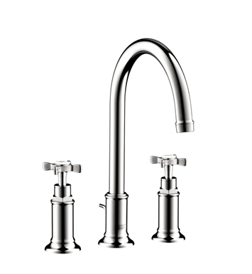 Hansgrohe 16513821 Axor Montreux Widespread Faucet with Cross Handles With Finish: Brushed Nickel