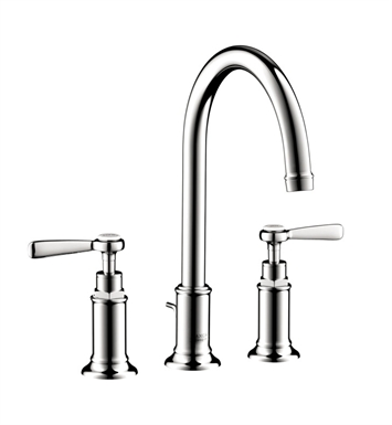 Hansgrohe 16514001 Axor Montreux Widespread Faucet with Lever Handles With Finish: Chrome