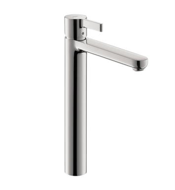 Hansgrohe 31020821 Metris S Single Hole Faucet, Tall With Finish: Brushed Nickel