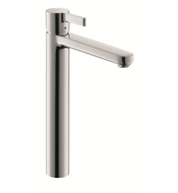 "Hansgrohe 31020 Metris S 7 1/2"" Single Handle Deck Mounted Tall Bathroom Faucet with Pop-Up Assembly"